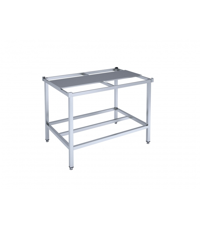 Framed double-sided preparation table