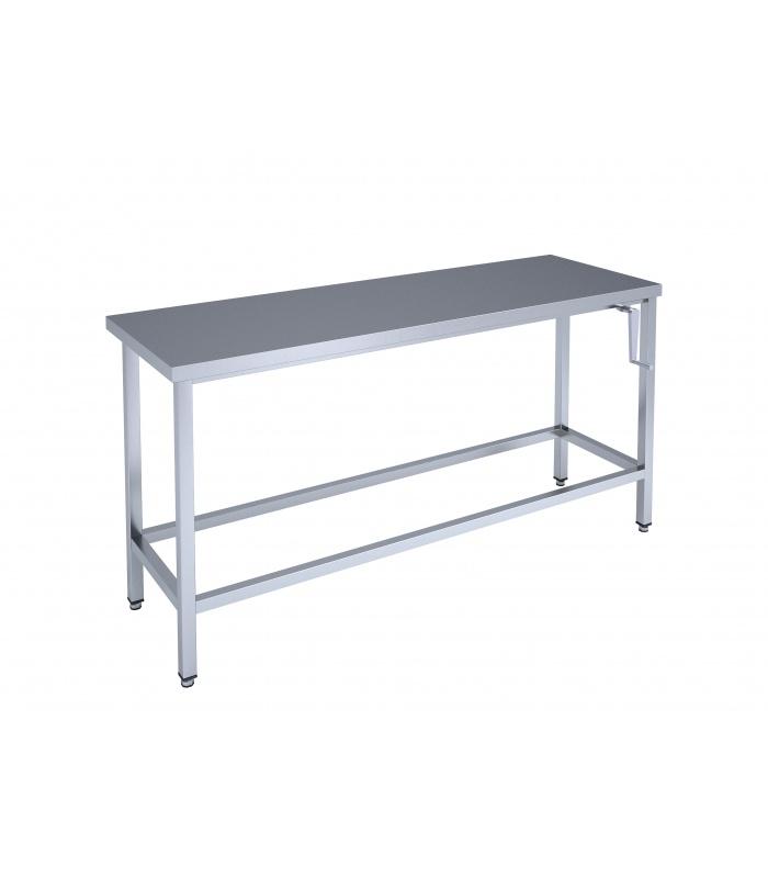 Ierāmēts galds ar mehānisko pacelšanas mehānismu
