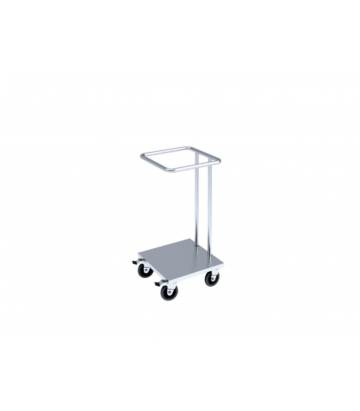Trolley for plastics garbage bags