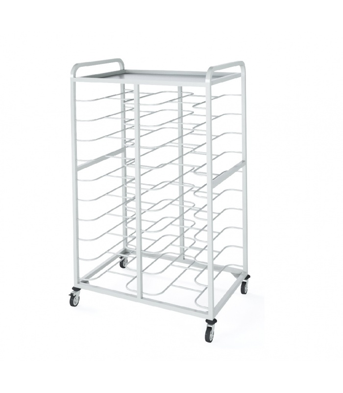 Universal trolley for gastronorms