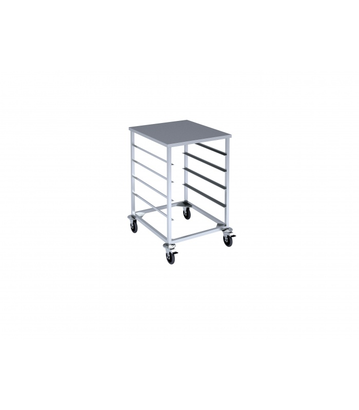 Trolley for trays